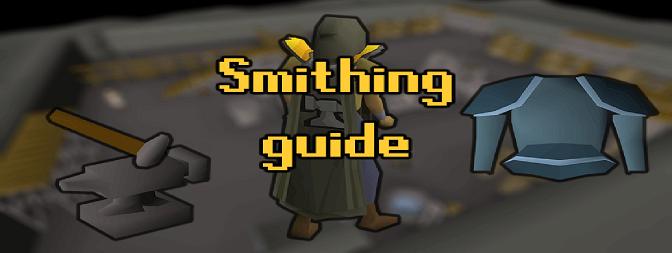[OSRS] Fastest smithing XP